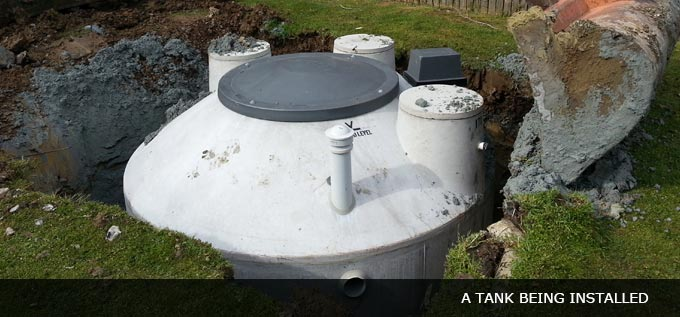 plastic tank wastewater system